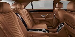 Saddle Interior The New Flying Spur V8 S Bentley Motors