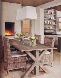 best 25 rustic wood dining table ideas on pinterest kitchen