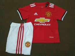 Baju Adidas Ori baju bola anak manchester united home 2018 adidas jual jersey