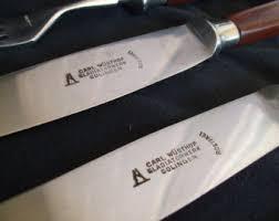 solingen kitchen knives wood handle knife etsy