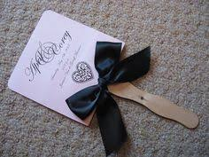 bling wedding programs bright yellow heart shaped wedding program fans photos from