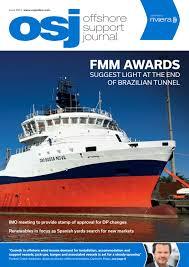 offshore support journal june 2017 by rivieramaritimemedia issuu
