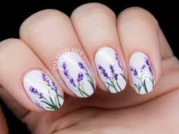 simple flower nail designs gallery nail art designs