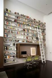 In Wall Bookshelves by Bookcases