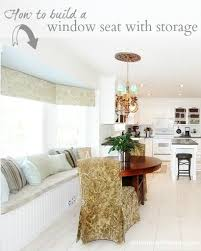 how to build a window seat how to build a window seat with storage at the picket fence