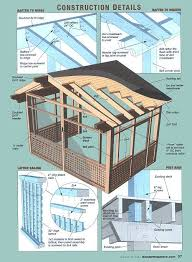 covered porch plans 38 best porch roofs images on decks patio ideas and