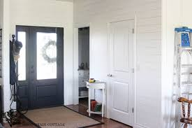 Shiplap Wainscoting Combining Board U0026 Batten With Planked Walls The Wood Grain Cottage