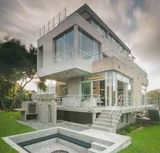 vacation home designs cantilevered vacation home takes in the forest and sea