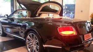 bentley convertible 2018 bentley continental gt convertible roof closing start up and
