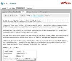 Ip Address Map 2wire 3800hgv B Screenshot Ip Address Allowcation