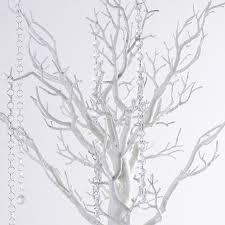 tree centerpieces balsacircle 30 manzanita tree with garlands for wedding diy