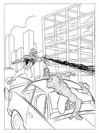 venom and carnage coloring pages free here
