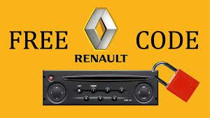 renault radio code calculator to unlock any renault car radio free