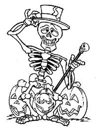 halloween coloring skeleton sheets tags skeleton coloring sheet