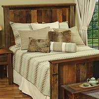 Barn Wood Bedroom Furniture Reclaimed Wood Furniture Cabin Place