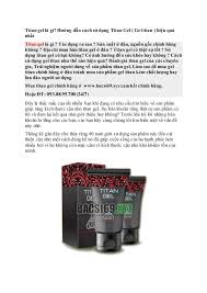 titan gel nga chính hãng mua bán giá sĩ ở bacsi69 xyz