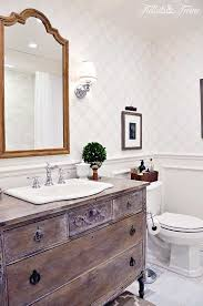 how to paint existing bathroom cabinets 11 low cost ways to replace or redo a hideous bathroom