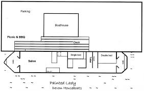 Boathouse Floor Plans Our Houseboats Houseboat Floor Plans Crtable