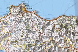 Palermo Italy Map by Provincia Di Palermo Sicily Genealogy Maps Page