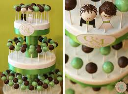key lime tiered cake pop wedding cake lottie and lil cake pops