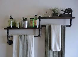 kitchen towel rack ideas bathroom bathroom towel racks shelves ideas for bathrooms home