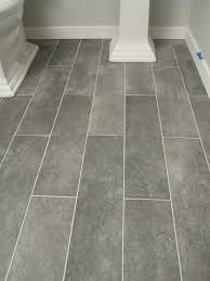 wide plank tile for bathroom great grey color great option if