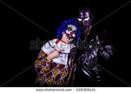 crazy ugly grunge evil clown town stock photo 228369145 shutterstock