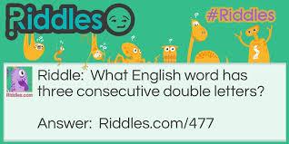 Meme Letters - double letters riddles com