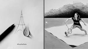 this indian artist makes 3d pencil sketches that look unbelievably