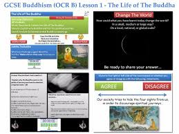 gcse buddhism lesson 4 the first of the four noble truths u0026 3