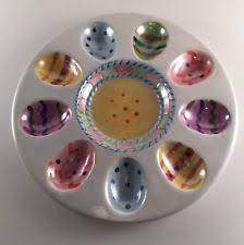 devilled egg plate easter deviled egg plate ebay