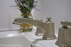 Pedestal Sink Faucet Replacement How To Install A Pedestal Sink Orc Week 3 U2022 Our Home Made Easy