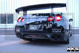 nissan gtr exhaust system hks superior specr titanium exhaust rolled ti tips world u0027s