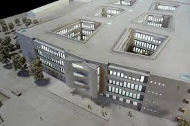 K He Massivholz Architekturmodell Dm Neubau In Karlsruhe Béla Berec Modellbau 1 200