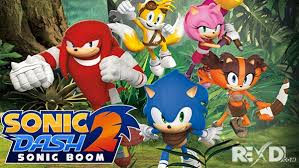 sonic 2 apk sonic dash 2 sonic boom 1 7 5 apk mod for android