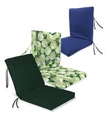 High Back Patio Chair Cushion Classic Chair Cushion Outdoor Cushions Plow U0026 Hearth