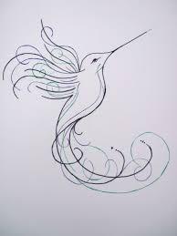 hummingbird sketch design by inmateharley tattoo ideas