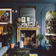 gorgeous home full of artwork and vintage finds digsdigs