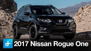 2017 nissan rogue black 2017 nissan rogue one star wars edition youtube