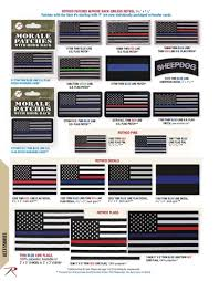 Thin Blue Line Flag Rothco Thin Blue Line Catalog