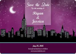 wedding save the date magnets 5x7 custom new york wedding save the date magnets 25 mil