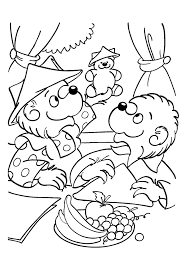 berenstain bears coloring pages coloring