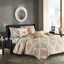 What Is Coverlet In Bedding Amazon Com Madison Park Claire 6 Piece Quilted Coverlet Set King