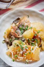 Main Dish Chicken Recipes - chicken mushroom u0026 potato casserole let the baking begin
