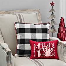 Christmas Pillows Pottery Barn Contemporary Ideas Decorative Christmas Pillows Tree Embroidered