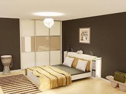 chambre couleur chaude peinture chambre adulte brillant couleur chaude pour chambre idées