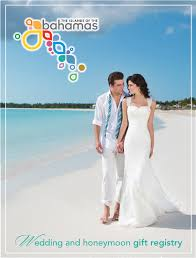 honeymoon bridal registry introducing the bahamas wedding and honeymoon gift registry