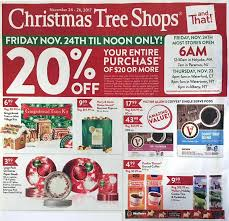 tree shops black friday 2018 ads deals and sales