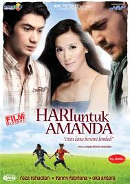poster film romantis indonesia dancing in the rain hari untuk amanda