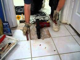 harbor freight 10 amp demolition hammer vs ceramic floor tile